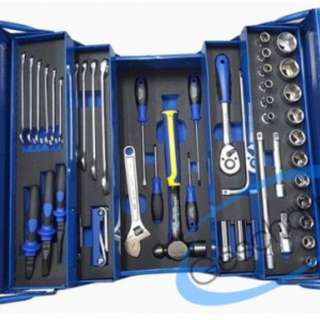 King Toyo 80 PCS CANTILEVER MECHANIC TOOL CHEST & TRAY SET