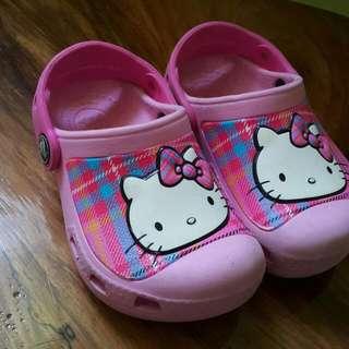 Crocs Pink Hello Kitty