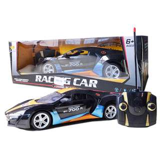 Radio Control 1:14 Scale model Remote Control Racing Car Black