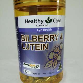 Healthy Care Bilberry & Lutein