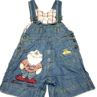 Overall girl 5-6y