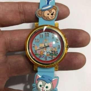迪士尼樂園限定商品Duffy 手錶 Made in Japan