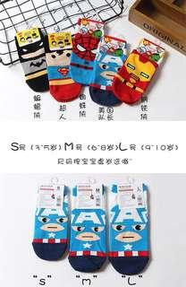Pre Order : Kids Disney Cartoon Socks