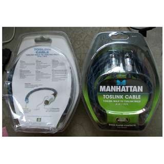 Manhattan Professional Optical Cable 3m For Sale