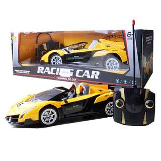 Radio Control 1:14 Scale model Remote Control Racing Car YELLOW