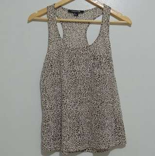 Animal Print Top by Forever 21