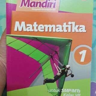 Buku soal Mandiri Matematika