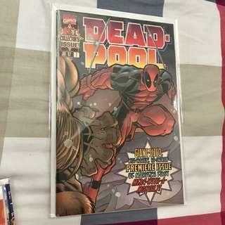 Marvel Comics Deadpool #1-11 (1997) First Regular Series Complete Run VF+