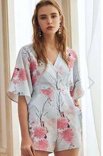 BNIB The Closet Lover TCL Pearlina Floral Printed Romper
