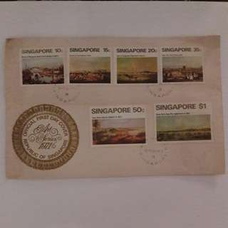 Singapore First Day Covers Stamps