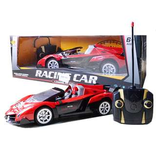 Radio Control 1:14 Scale model Remote Control Racing Car Red