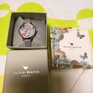 Clearance Sale! Authentic Olivia Burton Flower Show Floral Ladies Watch