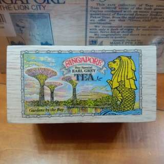 【新加坡茶包】木盒包裝