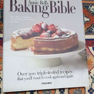 'Baking Bible' by Annie Bell cookbook