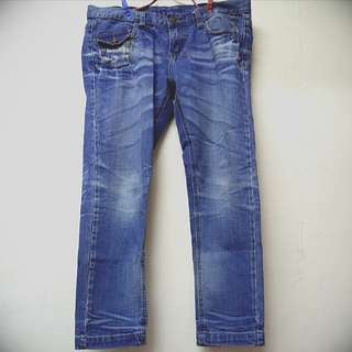 🇬🇧2nd 🤚🏻 Vintage Style Blue Jeans