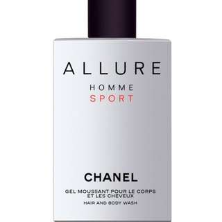 Chanel ALLURE HOMME SPORTHAIR AND BODY WASH 200ml 潔淨肌膚與頭髮護理 Mens