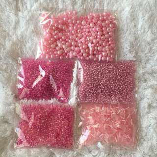Lots of Pink Beads