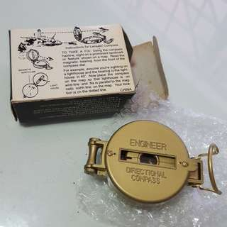 Navigation Lensatic Compass