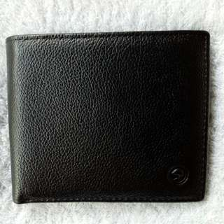 McJim Leather Wallet Coin Pocket ID Photo
