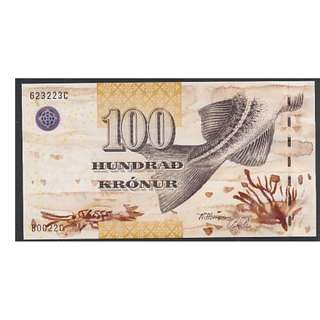 (BN 0068) 2001 Fareo Islands 100 Kronur - UNC