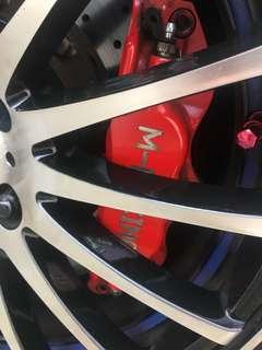 Big Brake kit for civic/accord/stream