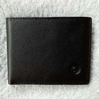 McJim Leather Wallet Card Slots Photo ID