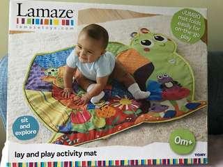 Lamaze playmat