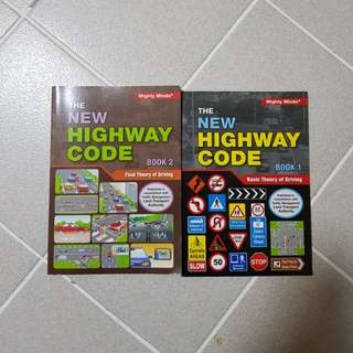 Driving Theory Books BTT FTT the new highway code book 1 book 2 final theory basic theory