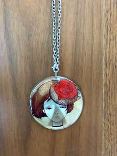 Cute Girl Necklace