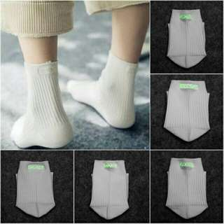 Glow In the Dark Statement Socks (white)