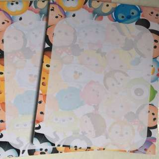 Tsum Tsum Notepad Memo Book