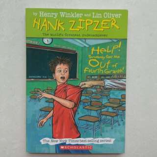 Hank Zipper ( Book 7 ) Helo! Somebody Get Me Out Of Fourth Grade