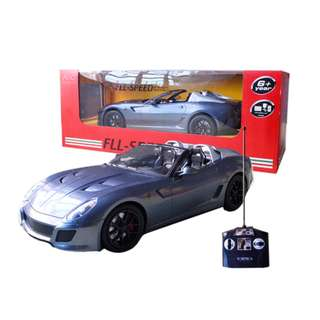 Radio Control Ferrari 1:14 Scale model Remote Control Racing Car GREY