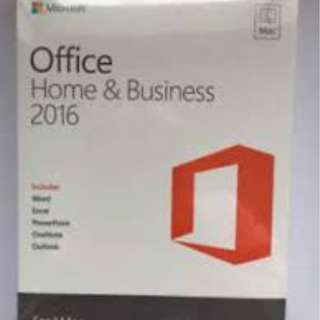 Microsoft Office 2016 for PC & MAC with Hardcopy