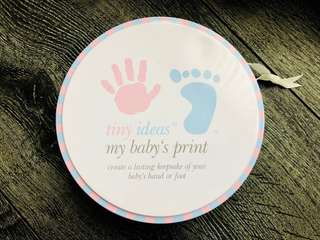 Baby hand/foot print