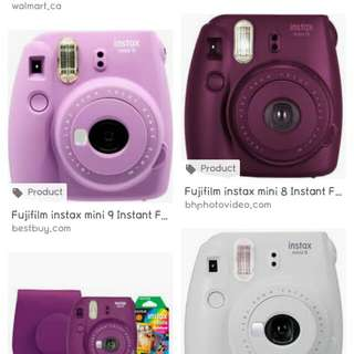 Badly looking for ANY INSTAX MINI 😭  My budget is 1k-1500 😭
