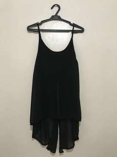 TRUNK SHOW Black Top (free size)