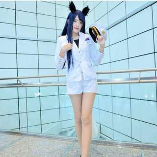 SNSD Ahri cosplay costume league of lengend