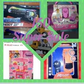 brandnew toys at lowest price