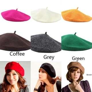 Brand new Beret hats