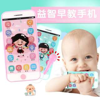 Smart Music Story Mobile Phone Touch Screen with Microphone Emulation Mobile Phone