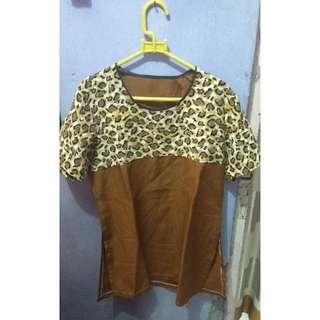Baju Coklat Macan