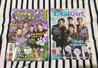 5 Seconds of Summer (5SOS) Total Girl Magazines