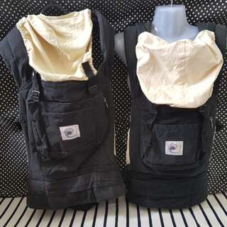 Ergo baby OriginalCarrier - Black Charcoal