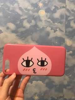 iPhone 7plus peach手機套