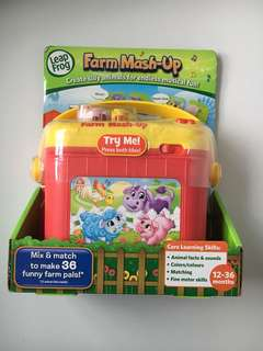 BNIB Leap frog farm mash-up