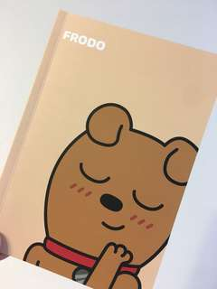 Kakao Friends note book