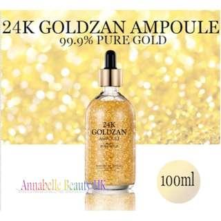 Skinature - 24K Goldzan黃金精華液 100ml  $280   100% new & real