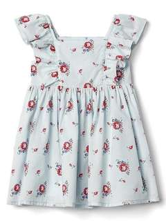 Baby gap floral flutter dress 12~18month brand new