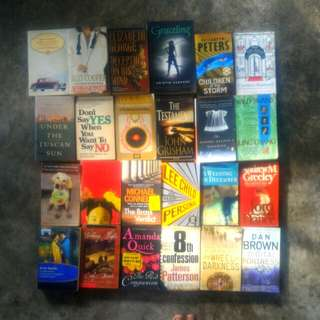 Various English Novels